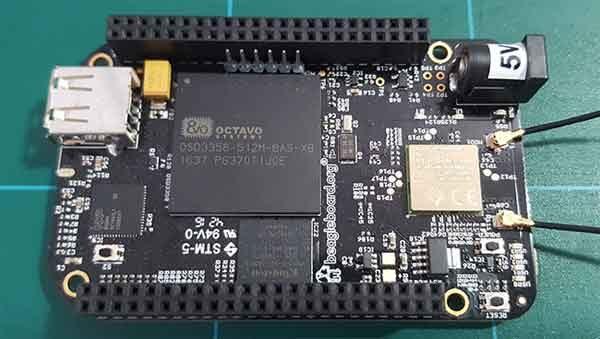 Релейный модуль UniPi и плата BeagleBone Black