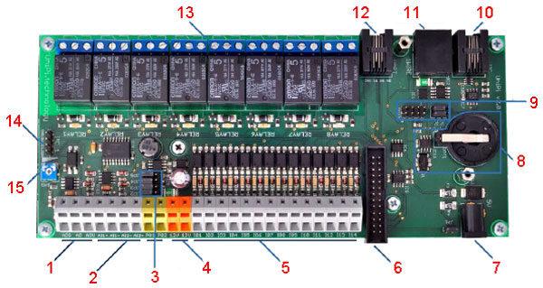 Релейный модуль UniPi как плата расширения конструктора Raspberry Pi