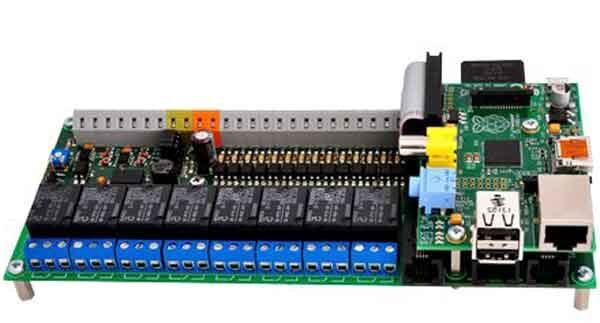 Релейный модуль UniPi в связке с конструктором Raspberry Pi