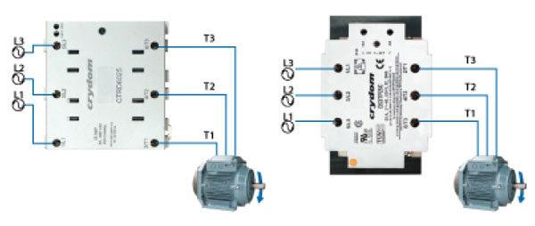 Как подобрать ТТР для электродвигателя - варианты включения
