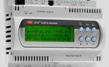 Промышленный контроллер pCOxs на управление HVAC