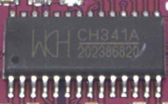 Микросхема CH341 – исполнение и схемы подключения