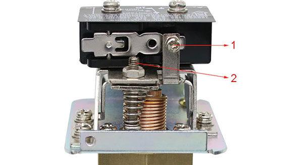 Реле протока воды - составные части конструкции прибора