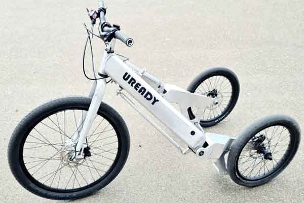 Велосипед трёхколёсный урбанистический трайк Uready