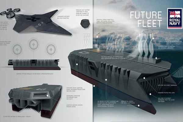 Британский ВМФ будущего + операционное преимущество