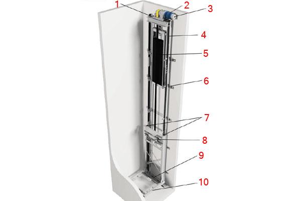 Лифт в частный дом гидравлический и линейный + схема