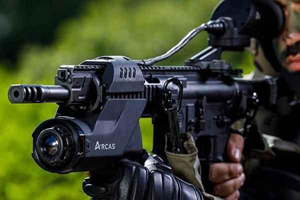Оптический прицел ARCAS поможет стрелять из-за угла