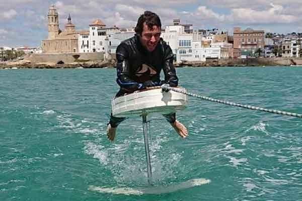 Гидрофойл доска на подводных крыльях своими руками
